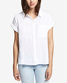 Sanctuary Cotton Boyfriend Shirt