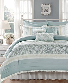 Dawn 9-Pc. Queen Comforter Set