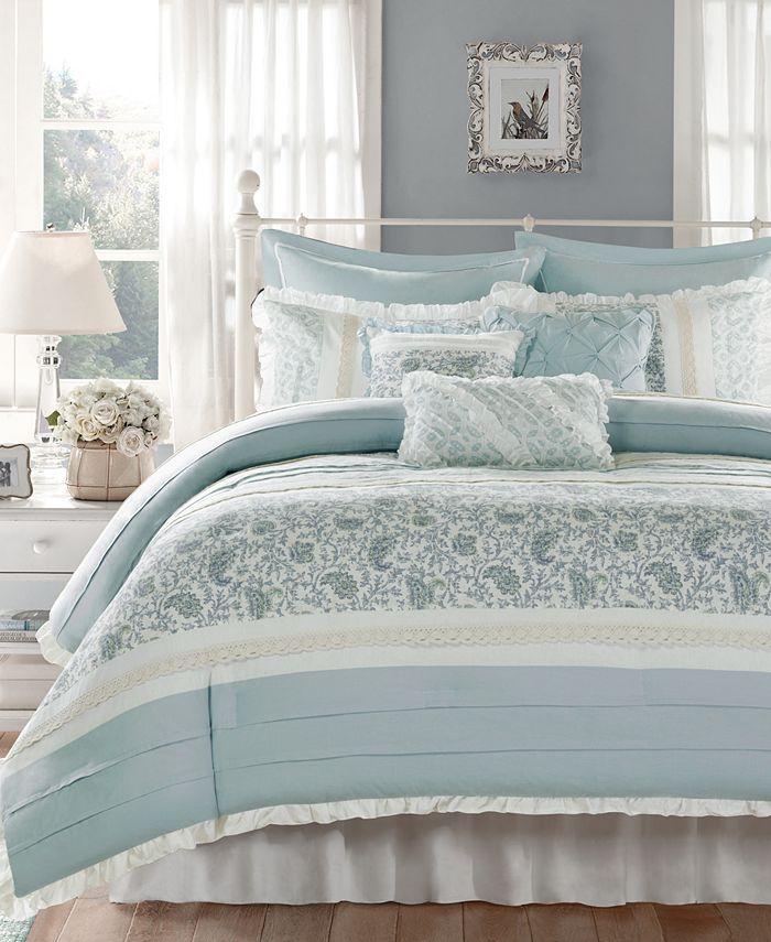 Madison Park - Dawn 9-Pc. Queen Comforter Set