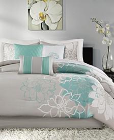 Lola 7-Pc. Queen Comforter Set