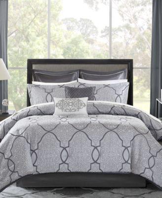 Lavine 12-Pc. King Comforter Set