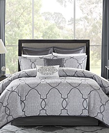 Lavine 12-Pc. Queen Comforter Set