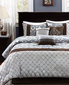 Madison Park Crosby 7-Pc. King Comforter Set
