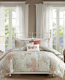 Madison Park Katalina Cotton 6-Pc. Full/Queen Duvet Cover Set