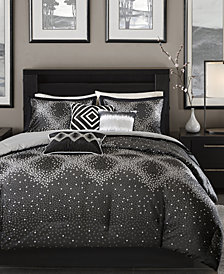 Madison Park Quinn 7-Pc. Geometric Jacquard Queen Comforter Set