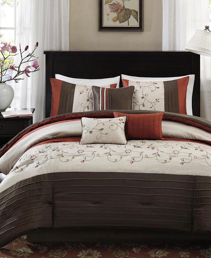 Madison Park - Serene 7-Pc. King Comforter Set