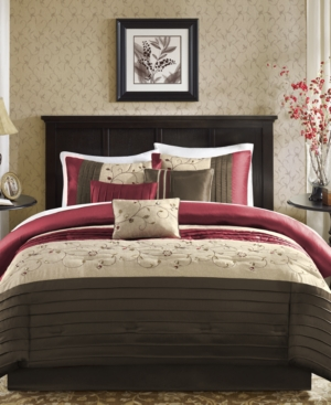 Madison Park Serene 7-Pc. Queen Comforter Set Bedding