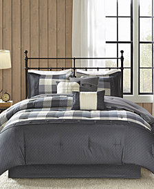 Madison Park Ridge 7-Pc. Queen Comforter Set