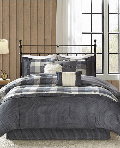 Madison Park Ridge Bedding Sets