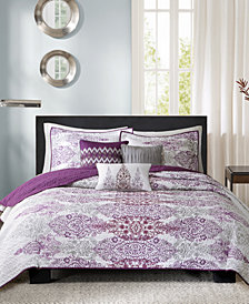 Madison Park Sonali 6-Pc. Full/Queen Coverlet Set