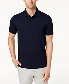 Lacoste Men's Short-Sleeve Ribbed Polo