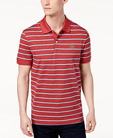 Lacoste Men's Striped Pique Polo