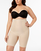 b0eae6ad4db Miraclesuit Women s Extra Firm Tummy-Control Shape with an Edge High Waist  Thigh Slimmer 2709