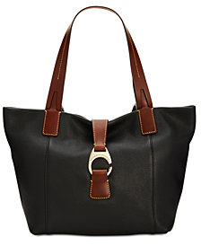 Dooney & Bourke East West Medium Pebble Leather Tote