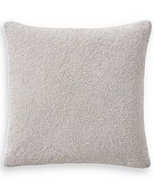 "Interlattice Beaded 20"" Square Decorative Pillow, Created for Macy's"