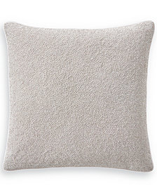 "Hotel Collection Interlattice Beaded 20"" Square Decorative Pillow, Created for Macy's"