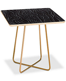 Deny Designs Camilla Foss Ebb and Flow Square Side Table