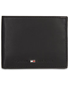 Tommy Hilfiger Men's Brax Leather Traveler Wallet