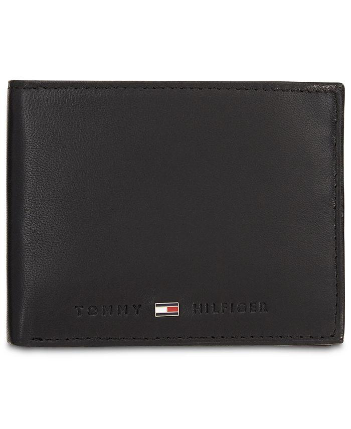 Tommy Hilfiger - Men's Brax Leather Traveler Wallet