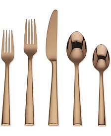 Lenox Colebrook Cognac 5-Pc. Flatware Place Setting