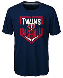 Outerstuff Minnesota Twins Run Scored Poly T-Shirt, Big Boys (8-20)
