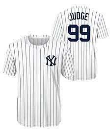 Outerstuff Aaron Judge New York Yankees Coop Poly Player T-Shirt, Big Boys (8-20)