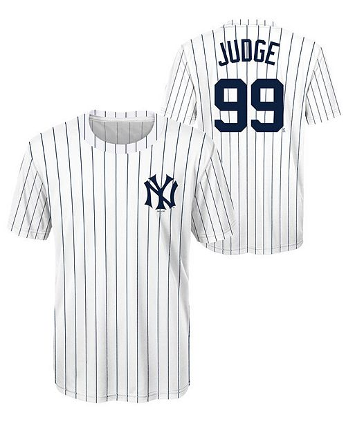 Outerstuff Aaron Judge New York Yankees Coop Poly Player T-Shirt ... c88438f45ce