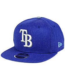 New Era Tampa Bay Rays Heather Hype 9FIFTY Snapback Cap