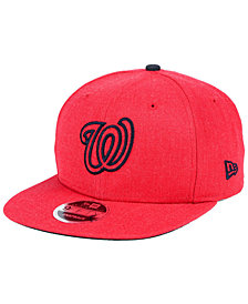 New Era Washington Nationals Heather Hype 9FIFTY Snapback Cap