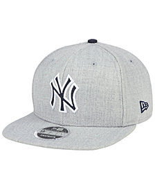 New Era New York Yankees Heather Hype 9FIFTY Snapback Cap