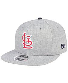 New Era St. Louis Cardinals Heather Hype 9FIFTY Snapback Cap