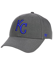 '47 Brand Kansas City Royals Charcoal MVP Cap