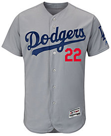 Majestic Men's Clayton Kershaw Los Angeles Dodgers Flexbase On-Field Player Jersey
