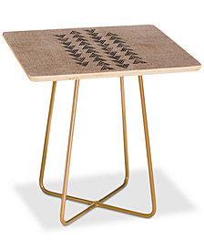 Deny Designs Holli Zollinger Tri Arrow Square Side Table