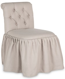 Quele Tufted Vanity Chair, Quick Ship