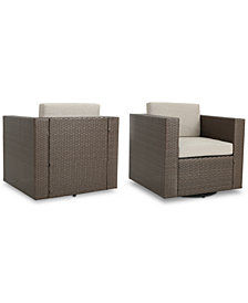 Lexington Outdoor Club Chairs (Set of 2), Quick Ship