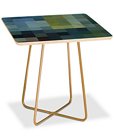 Deny Designs Madart Inc. Refreshing Square Side Table