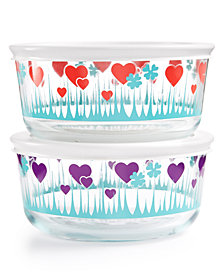 Pyrex 2-Pc. Lucky in Love Set
