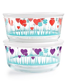 Pyrex 4-Pc. Lucky in Love Set