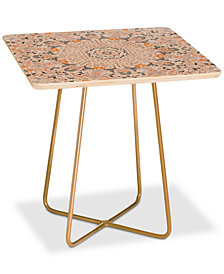 Deny Designs Monika Strigel Boho Summer Grey Square Side Table