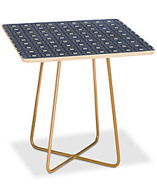 Deny Designs Natalie Baca Catalina Blue Square Side Table