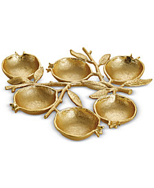Michael Aram Pomegranate 6-Compartment Serving Dish
