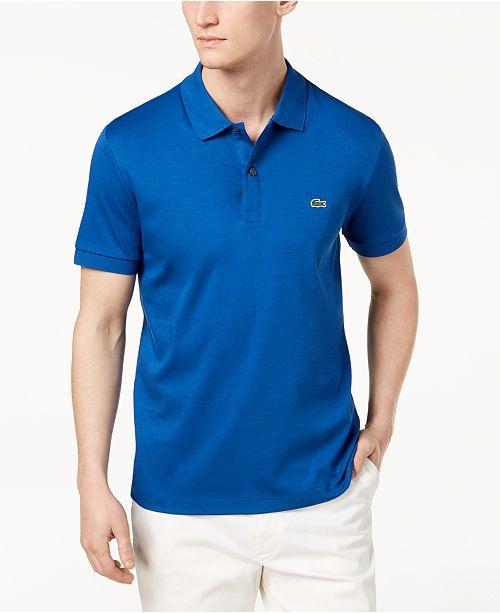 Lacoste Men's Regular Fit Pima Cotton Polo Shirt