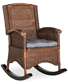 Gagan Rocking Chair, Quick Ship