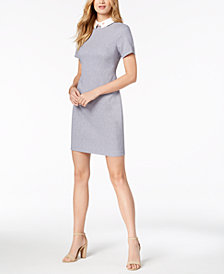 Ivanka Trump Collared Shift Dress