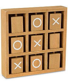 "Travel Tic-Tac-Toe Game, 5.875"" L x 5.875"" W x 1.25"" H"