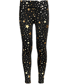 Ideology Big Girls Plus Star-Print Leggings, Created for Macy's
