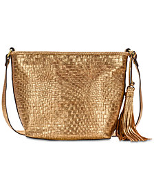 Patricia Nash Metallic Banyoles Crossbody, Created for Macy's