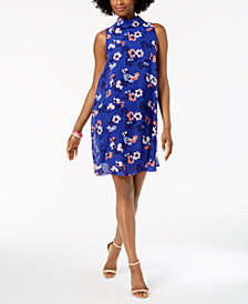 Jessica Howard Floral-Print Shift Dress, Regular & Petite