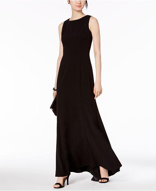 Vince Camuto Ruffle-Back Mermaid Gown - Dresses - Women - Macy s c0f5f058d5